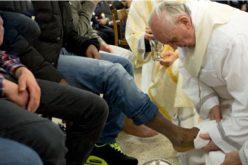 Папата на Велики четврток во затворот во Палијан