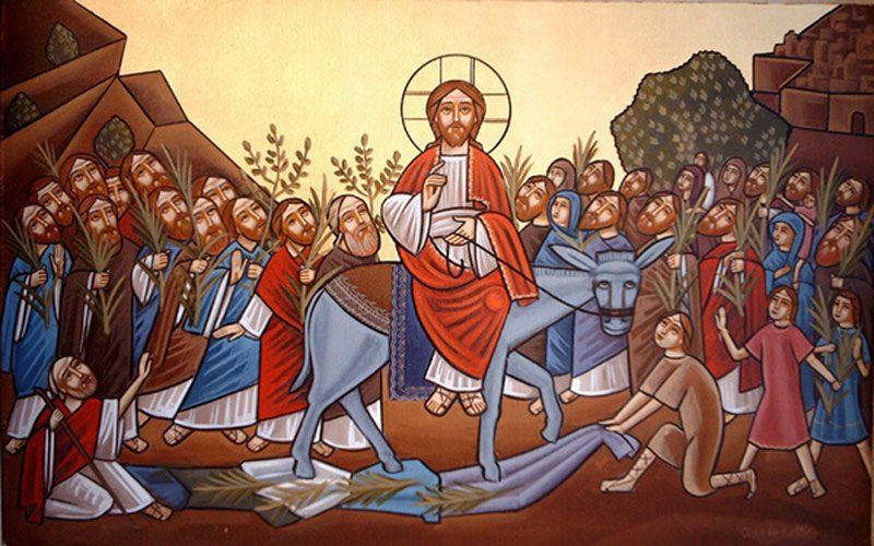 Влегување Господово во Ерусалим – Цветници