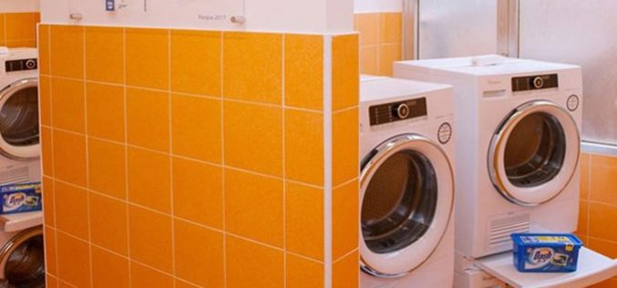 Започна со работа Папска перална за алишта за најсиромашните