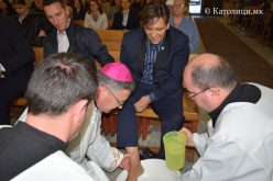 Скопје: Бискупот Стојанов служеше Миса Вечера Господова