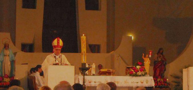 Воскресна проповед на бискупот Стојанов на Воскресната Миса во Скопската катедрала