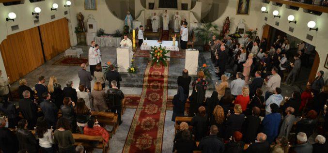 Воскресено бдение во Скопската катедрала