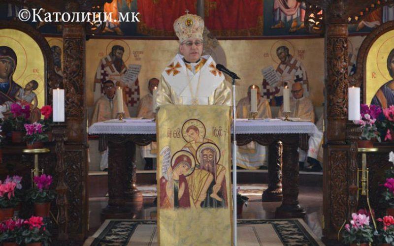 Воскресна проповед на Н.В.П. мон. д-р Киро Стојанов во Струмица