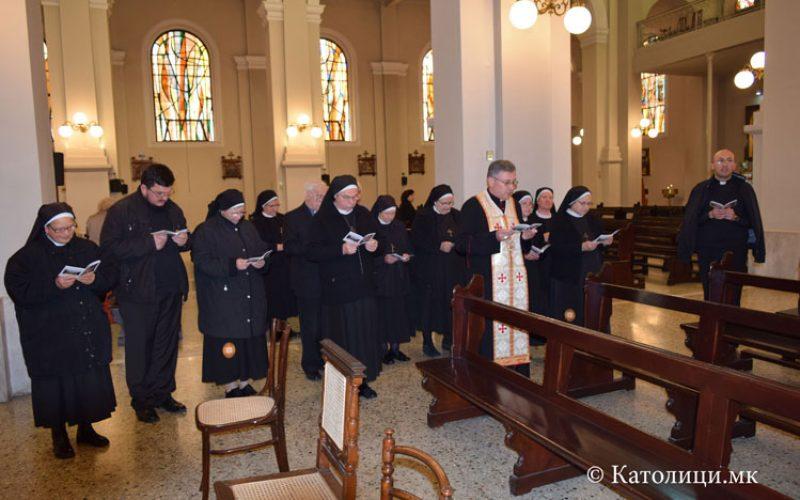 Поклонение на сестрите Евхаристинки во Солун