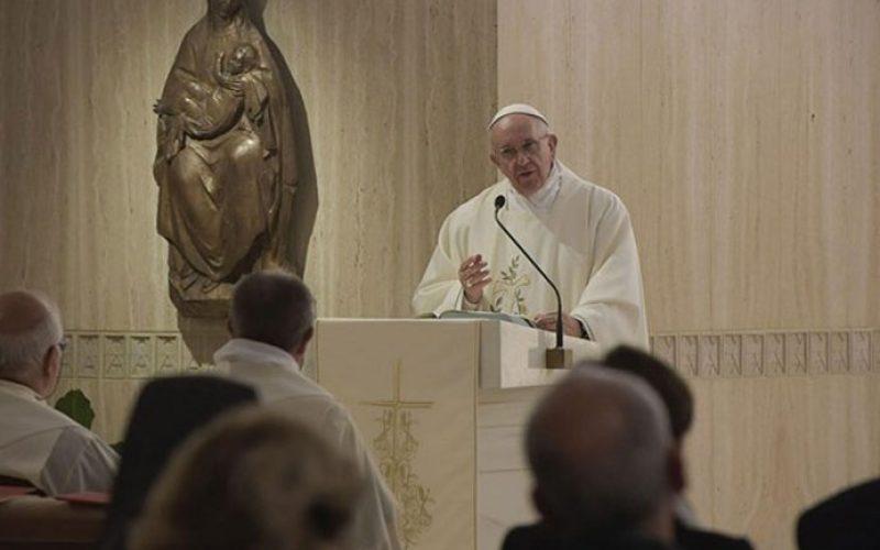 Папата: Христијанската вера е конкретна