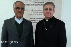 Бискупот Стојанов го прими новиот амбасадор на Иран