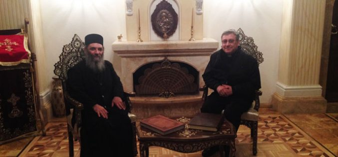 Бискупот Стојанов го посети Бигорскиот манастир