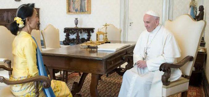 Ватикан и Мјанмар одлучија да воспостават дипломатски односи