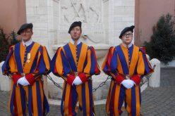 Папата се обрати на припадниците на Швајцарската гарда