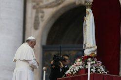 Папата заминува на Апостолско патување во Фатима