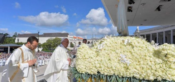 Света Литургија со канонизација на Фрањо и Јацинта Марто