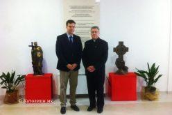 Бискупот Стојанов го прими унгарскиот амбасадор