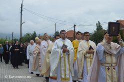 Моштите на свети Кирил Солунски изложени во Петралинци