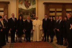 Папата Фрањо го прими претседателот Иванов