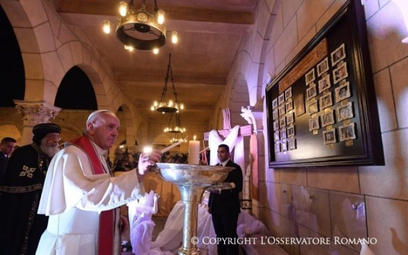 Папата испрати телеграма со сочувство за загинатите копти