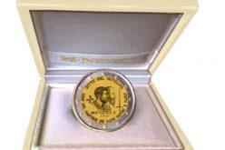 Ватиканска монета со ликовите на Петар и Павле