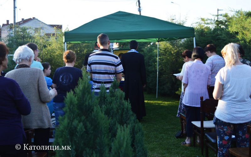 Струмица: Со молебен во дворот заврши Мајската набожност