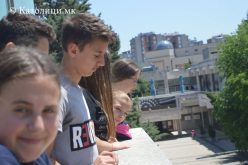 Младите од Свети Иван Крстител на поклонение во Скопје
