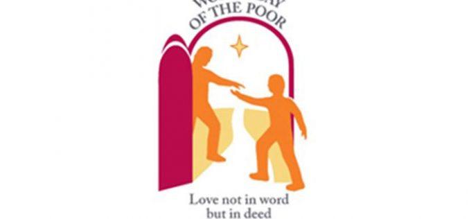Објавена пораката на Папата за Светскиот ден на сиромашните