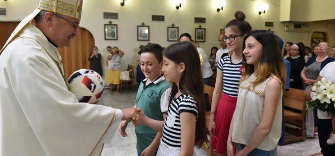 Прославен патронот на Скопската бискупија и парохија