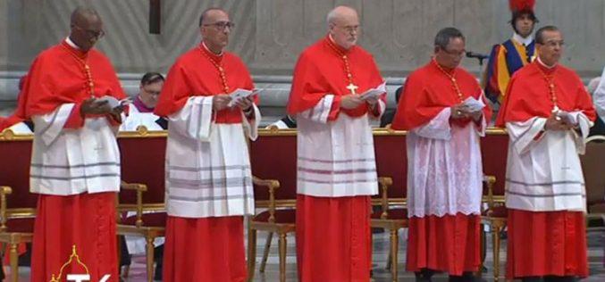 Папата до новите кардинали: Да ја гледаме реалноста