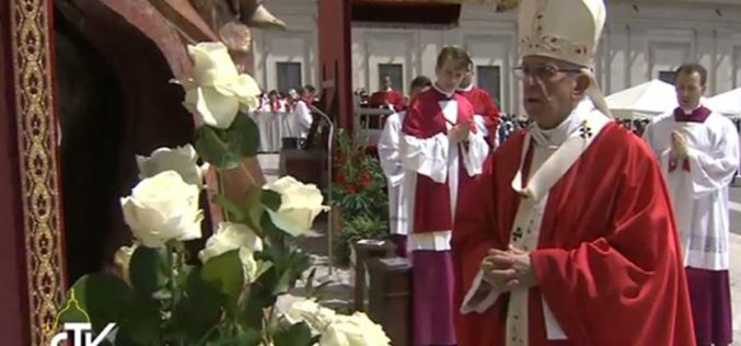 Папата: Исповед на верата, прогонство, молитва