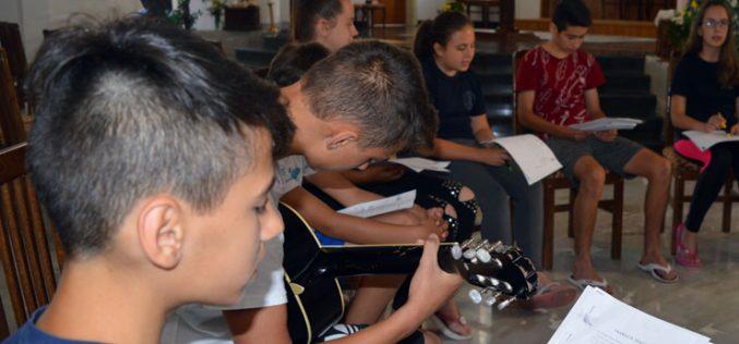 Младите од Свети Иван Крстител на Веронаучен камп во Охрид
