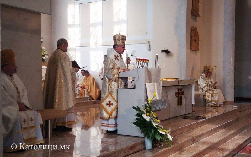 Моштите на свети Климент Охридски изложени во Словачка