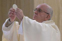 Надзор на лебот и виното наменети за Евхаристијата