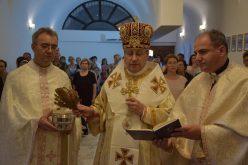 Прославен патрониот празник во обновената црква свети Петар и Павле – Гевгелија