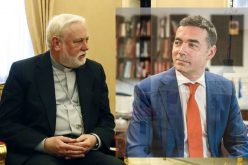 Надбискупот Галагер го прими министерот Димитров