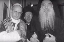 Патријархот Вартолемеј потсети на посетата на Павле VI на Фанар