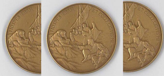 Медалјон за пет години понтификат на папата Фрањо