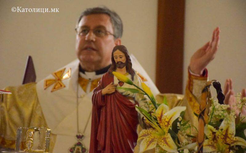 Најава: Владиката Стојанов за празникот Успение на Пресвета Богородица ќе служи во Струмица