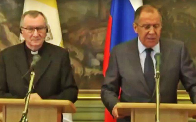 Кардинал Паролин во Москва се сретна со Лавров