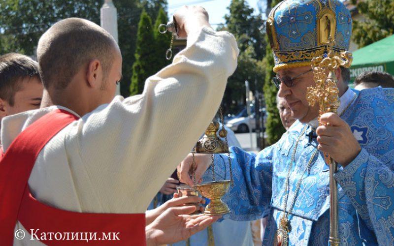 Најава: Владиката Стојанов за празникот Успение на Пресвета Богородица ќе служи во Струмица и Нова Маала