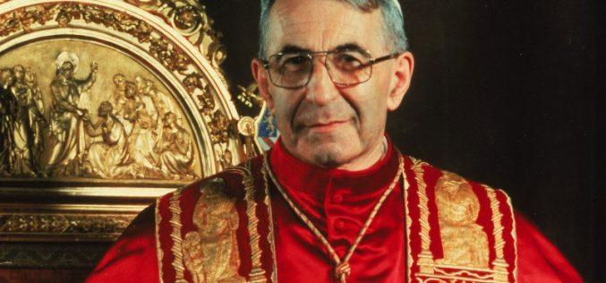 Напредува процесот за беатификација на папата Иван Павле I
