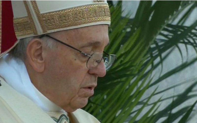 Папата упати телеграма со сочувство до кардинал ДиНарди