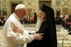 Заедничка порака на папата Фрањо и патријархот Вартоломеј
