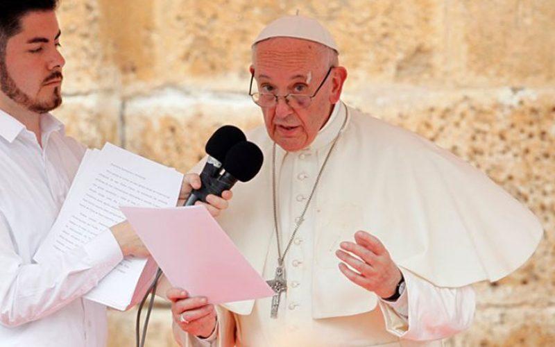 Папата со верниците од Картахена измоли Ангел Господов