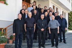 Завршија свештеничките духовни вежби