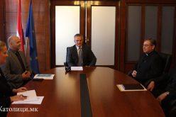 Хрватска: Бискупот Стојанов се сретна со државниот секретар Ѕвонко Милас