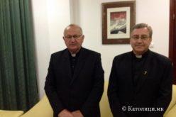 Бискупот Стојанов се сретна со воениот ординариј Богдан