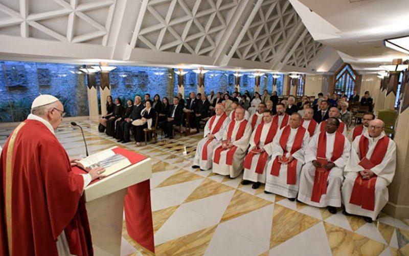 Папата: Ако сакаш Исус да те повика, признај се за грешник