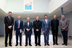 Бискупот Стојанов во посета на Хрватската матица за иселеници