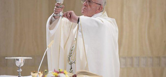 Папата: Утехата не е забава, туку мир Господов