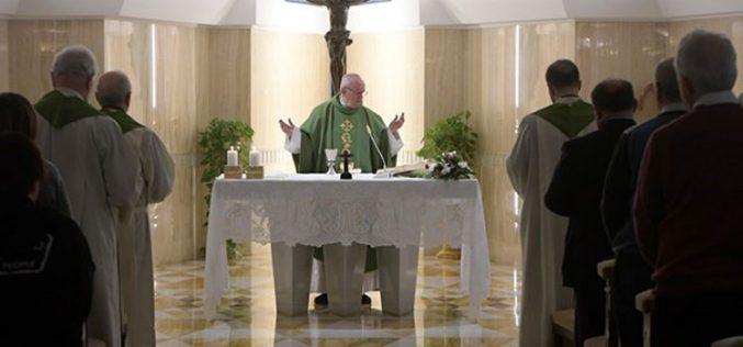 Папата: Влези во близок однос со Господ