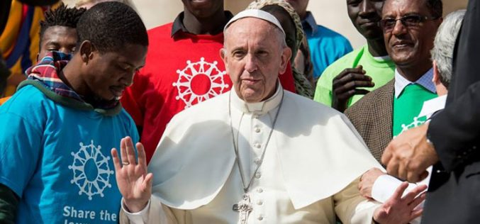 Папата: Не плашете се да ја споделувате надежта