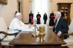 Папата го прими германскиот претседател Штајнмаер