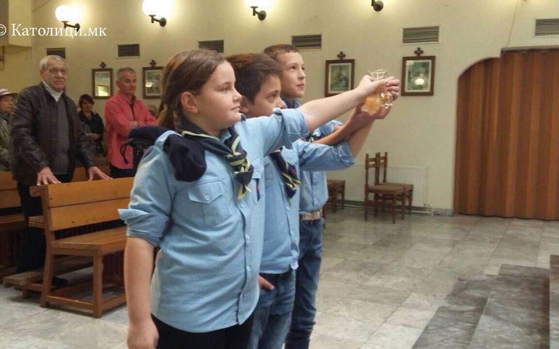 Одбележан Денот на лебот во Скопската парохија